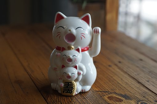maneki neko couleurs et significations